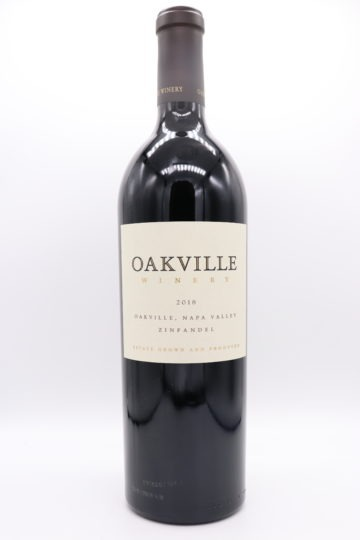 Oakville Winery Estate Zinfandel 2018