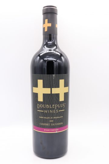 Double Plus Bynoe Vineyard Cabernet Sauvignon 2019
